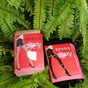 Bundle size E Spanx tights